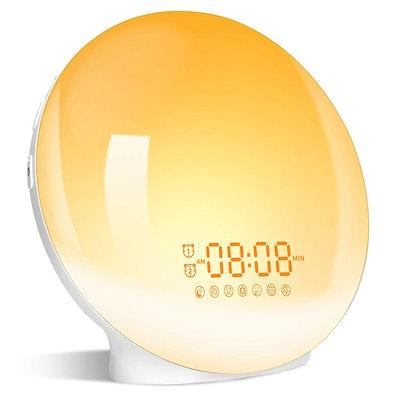 LBell Wake-Up Light Alarm Clock