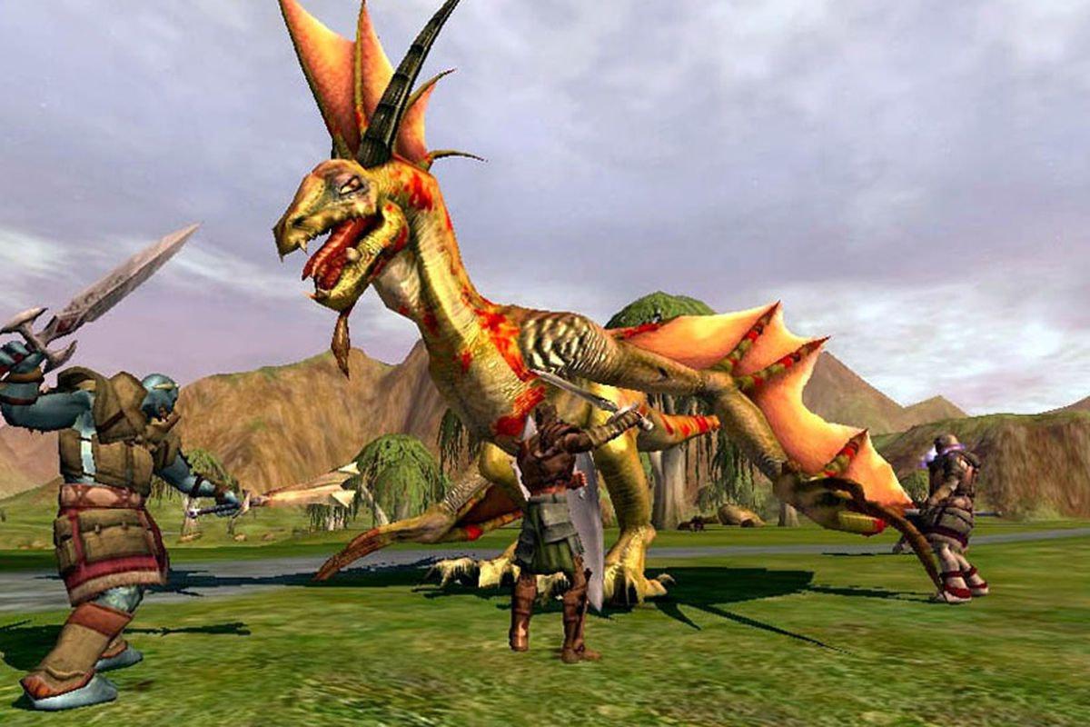 asheron call early mmorpg video game fantasy