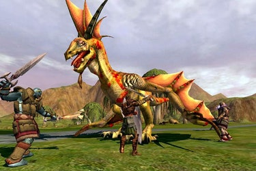 asheron call early mmorpg video game fantasy