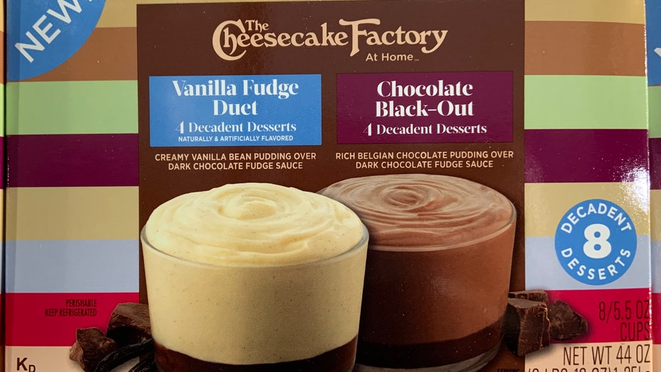 best holiday desserts from Costco
