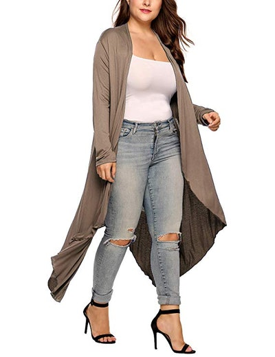 IN'VOLAND Women's Plus Size Cardigan