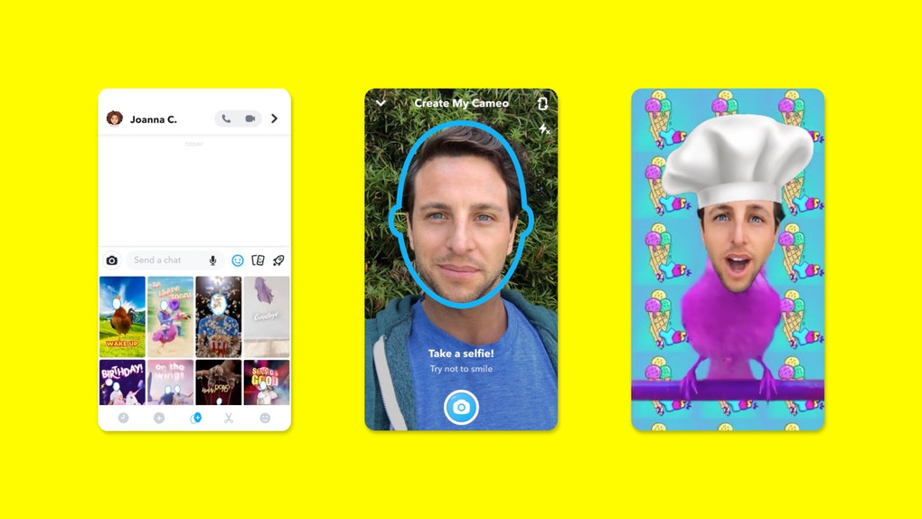 Here's How To Make A Snapchat Cameo, so you can share hilarious videos with your friends.