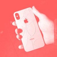The broken phones of New York City
