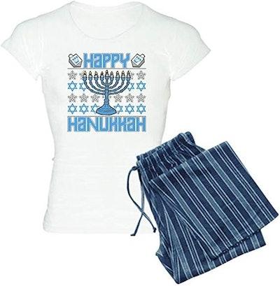 CafePress Happy Hanukkah Women's PJs