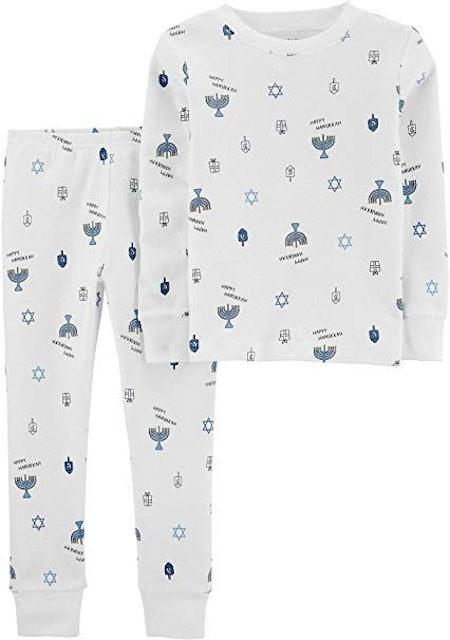 Carter's Boys Girls Hanukkah 2 Piece Snug Fit Pajamas