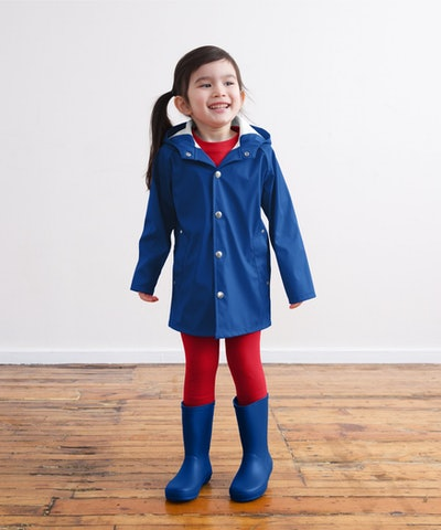 The Raincoat in 'Cobalt'