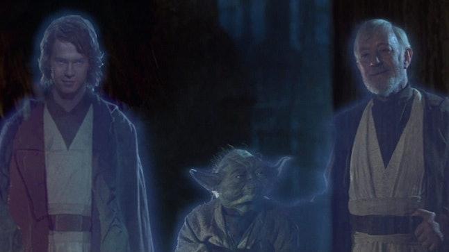 Hayden Christensen, Frank Oz, Alec Guinness 'Star Wars'
