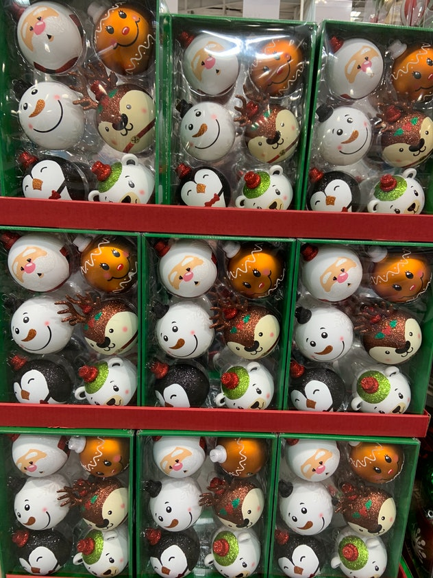 Whimsical Ornaments - 6 pack