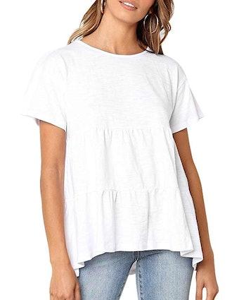Defal Women's Short Sleeve T-Shirt