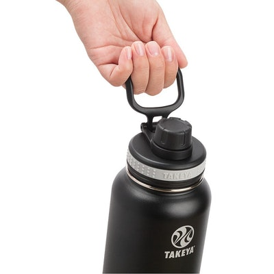 Takeya Vacuum-Insulated Stainless-Steel Water Bottle