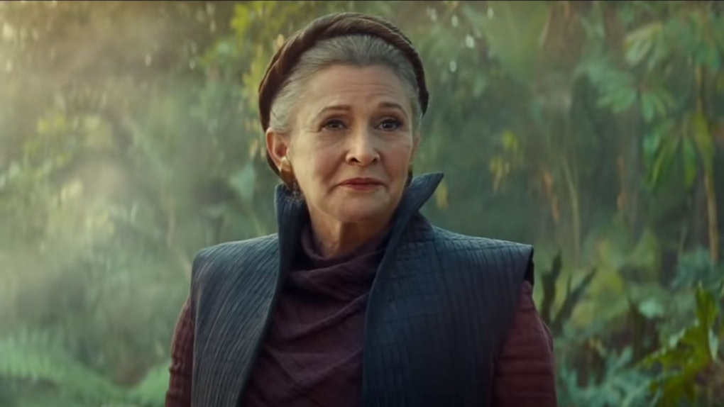 Leia in Star Wars The Rise of Skywalker
