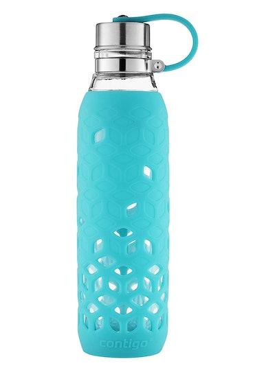 Contigo Glass Water Bottle With Petal Sleeve (20 Oz)