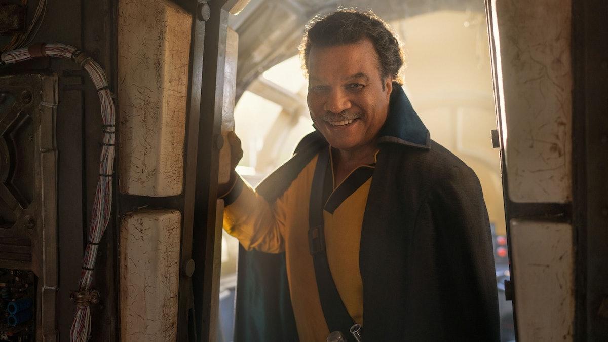 Lando in Rise of Skywalker