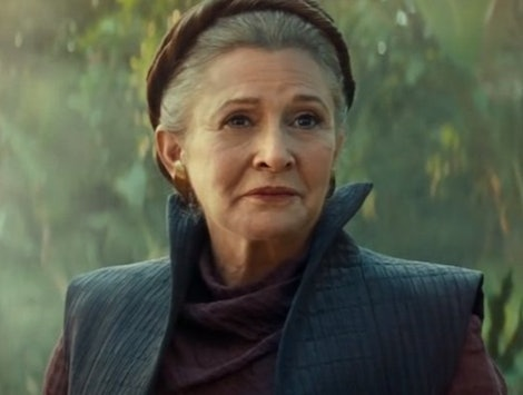 Carrie Fisher as General Leia 'Star Wars: The Rise of Skywalker'