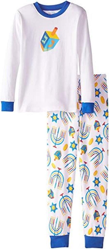 Sara's Prints Unisex Kids Long John Pajamas