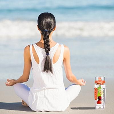 OMORC Fruit Infuser Sport Water Bottle