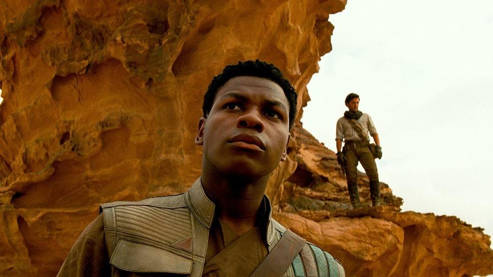 John Boyega as Finn in 'Star Wars: The Rise Of Skywalker'