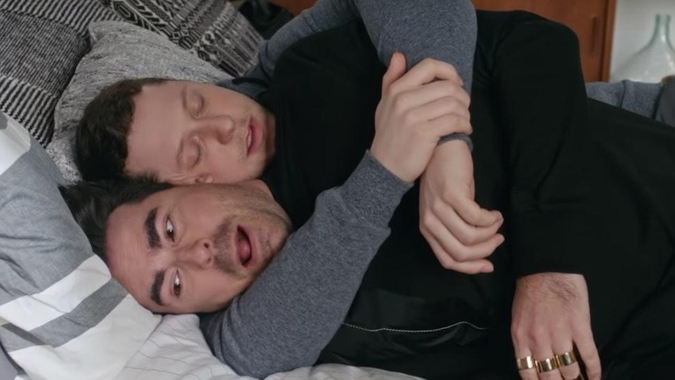The 'Schitt's Creek' Trailer Teases David & Patrick's Wedding Planning Troubles