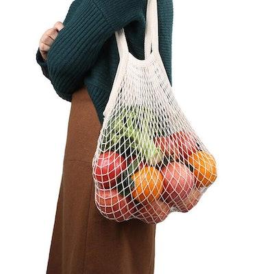 JM-capricorns Reusable Grocery Bags (4-Pack)