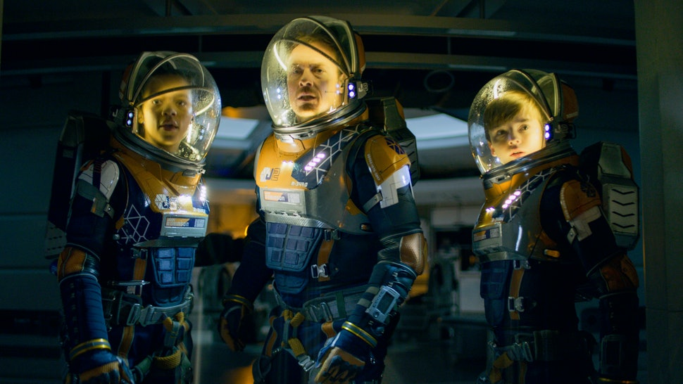The Robinsons return once again in Lost in Space.