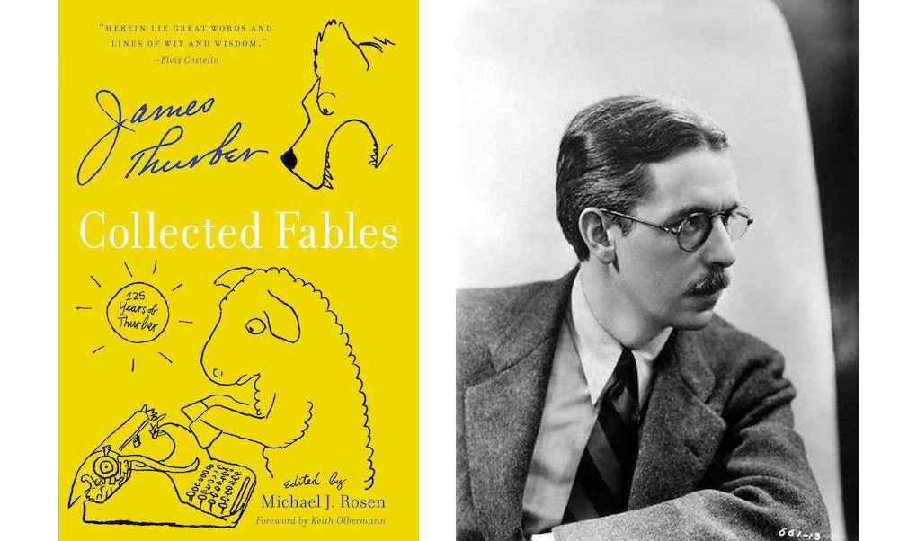 Book Excerpt: James Thurber's 'Collected Fables'