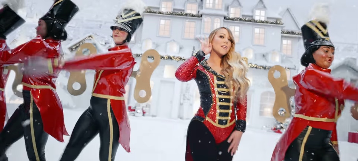 """Mariah Carey's New """"All I Want For Christmas Is You"""" video is so festive."""