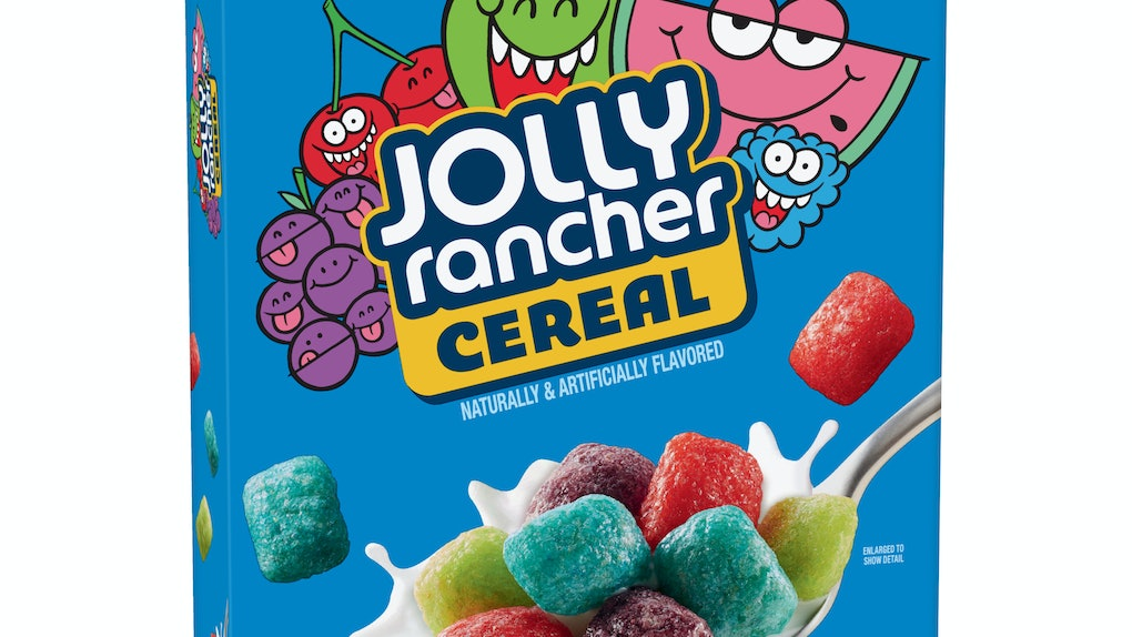 Jolly Rancher Cereal Is Coming In 2020, so get ready to load up on your fave candy for breakfast.