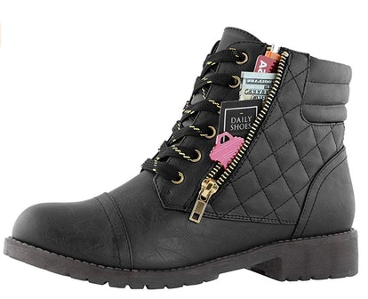DailyShoes Women's Quilted Boots