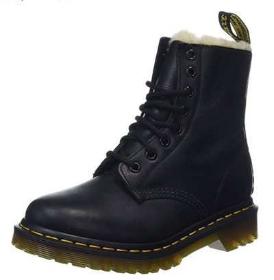 Dr. Martens Women's Serena Burnished Wyoming Leather Boot