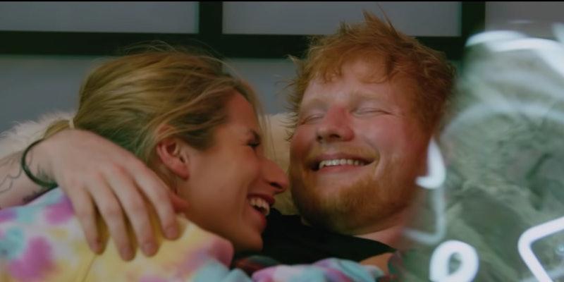 "Ed Sheeran Cherry Seaborn music video ""put it all on me"""