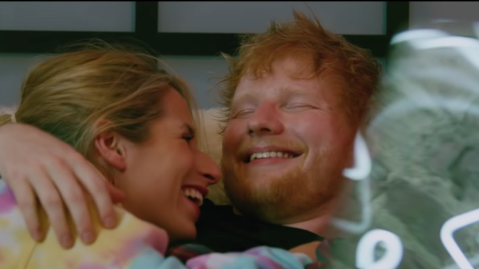 "Ed Sheeran Cherry Seaborn music video ""put it all on me"""