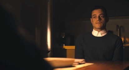 Rami Malek as Elliot Alderson meets the other Elliot in Mr. Robot