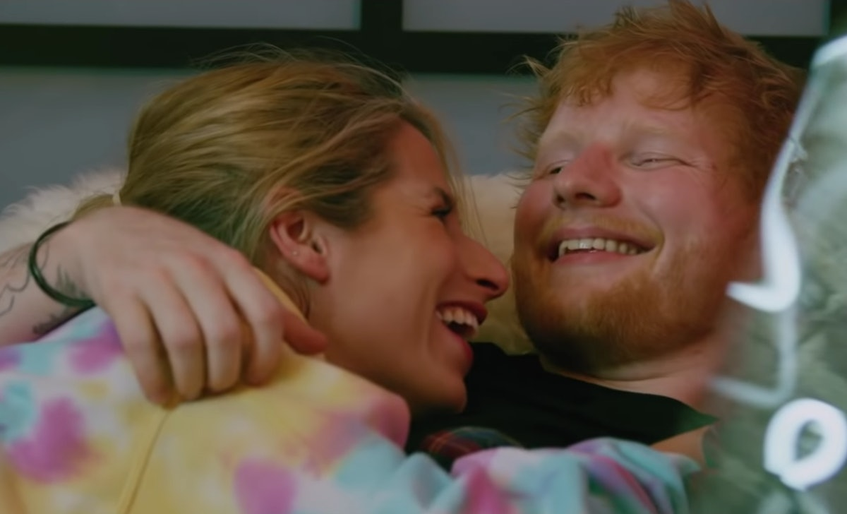 """Ed Sheeran's """"Put It All On Me"""" Music Video features a cameo with his wife."""