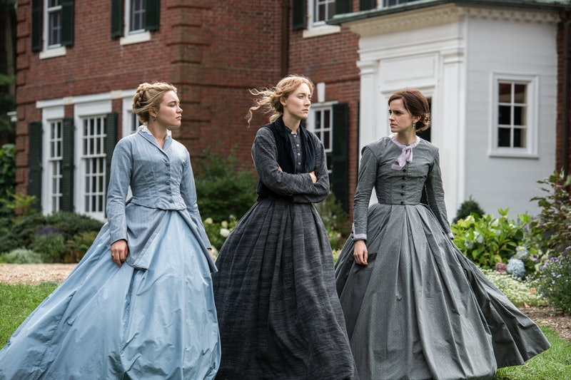 Florence Pugh, Saoirse Ronan, and Emma Watson star in the 2019 version of 'Little Women'