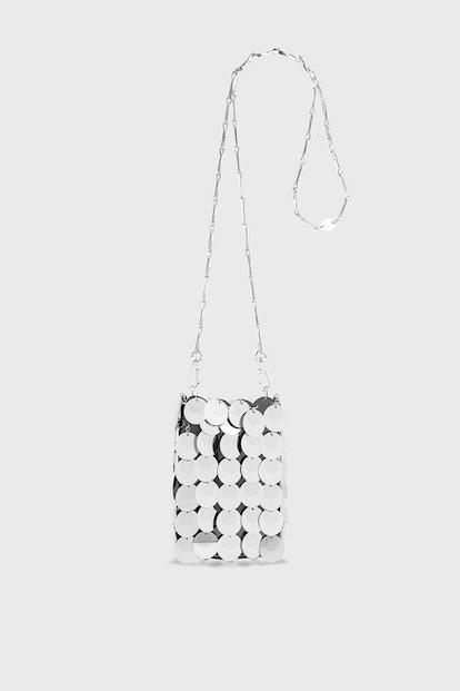Iconic1969 Mini Bag silver sparkle