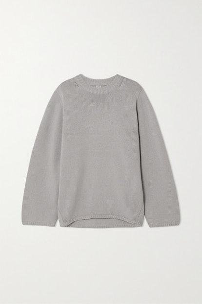 Marans Oversized Merino Wool And Cashmere-Blend Sweater