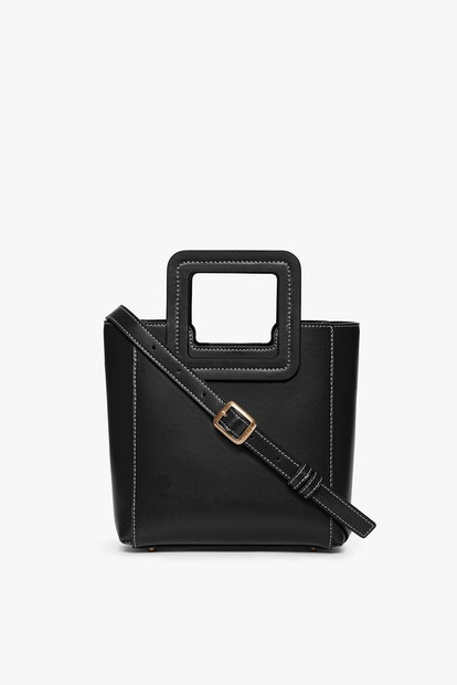 Mini Shirley Leather Black