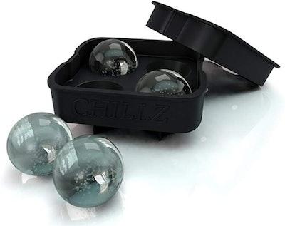 Chillz Ice Ball Maker Silicone Mold