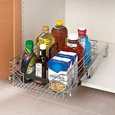 Seville Classics Pull-Out Cabinet Organizer