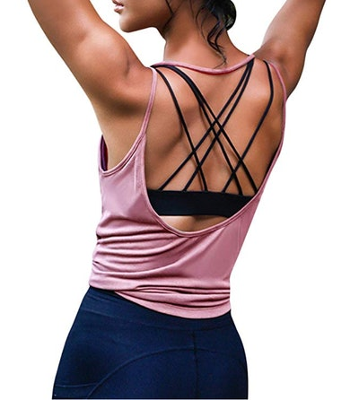 Ekouaer Women's Yoga Tank Top