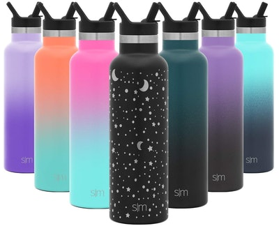 Simple Modern Stainless Steel Water Bottle With Straw Lid (12 Oz.)