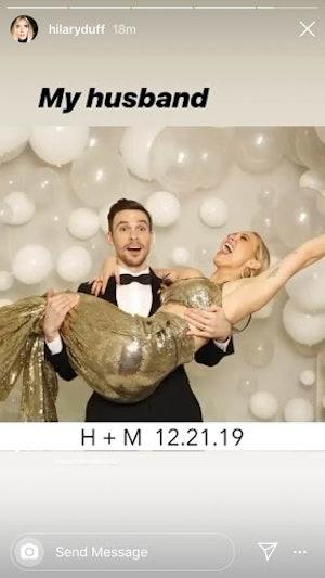 Hilary Duff Matthew Koma wedding pics