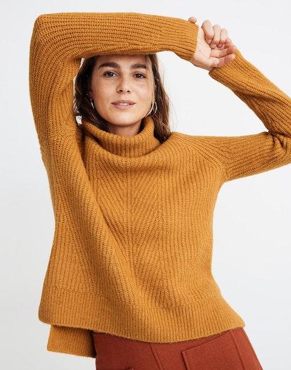 Mercer Turtleneck Sweater in Coziest Yarn
