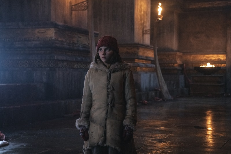 Dafne Keen as Lyra in His Dark Materials