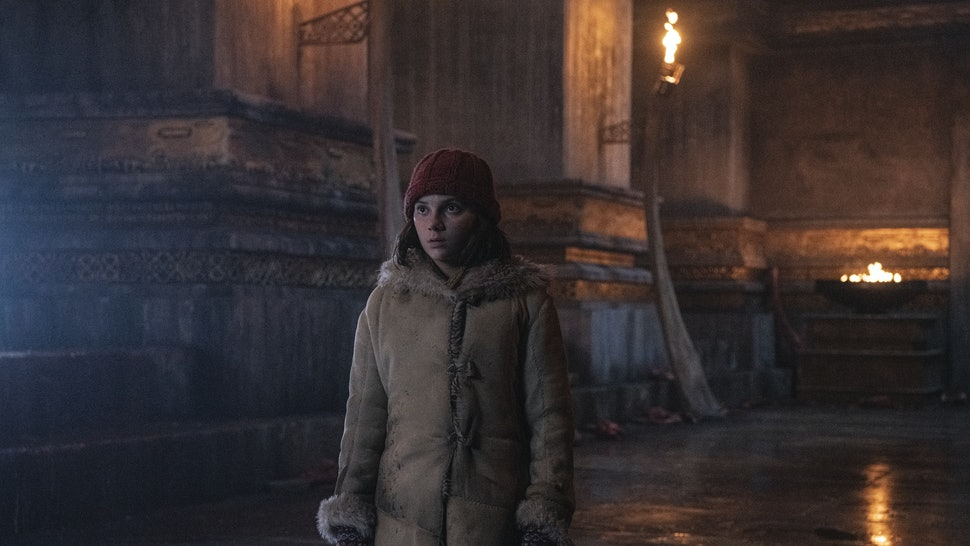 Dafne Keen as Lyra in His Dark Materials
