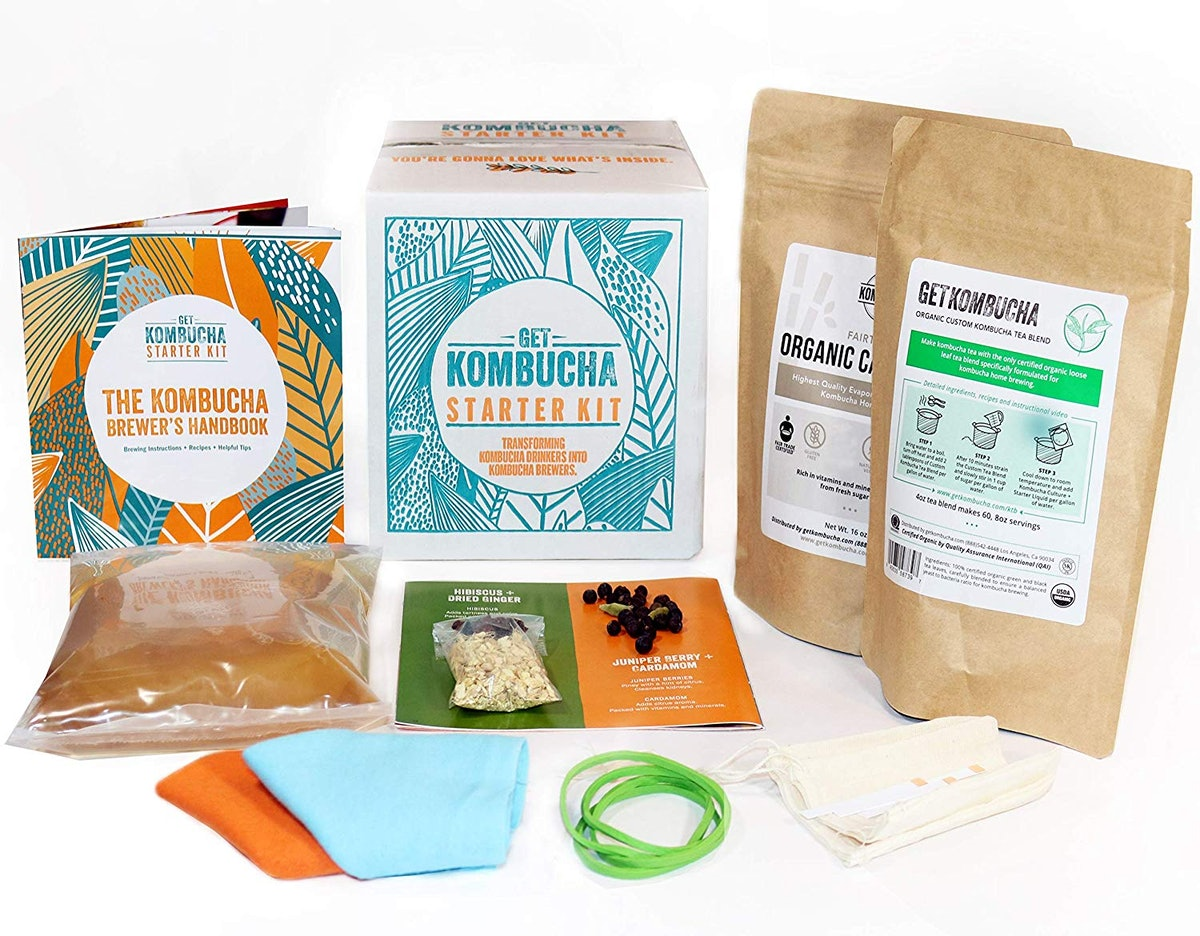 Get Kombucha Kombucha Starter Kit