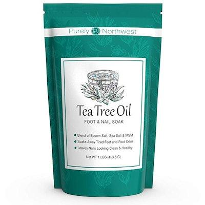 Purely Northwest Tea Tree Oil Foot Soak With Epsom Salt