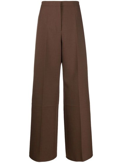 Leone Wide-Leg Trousers