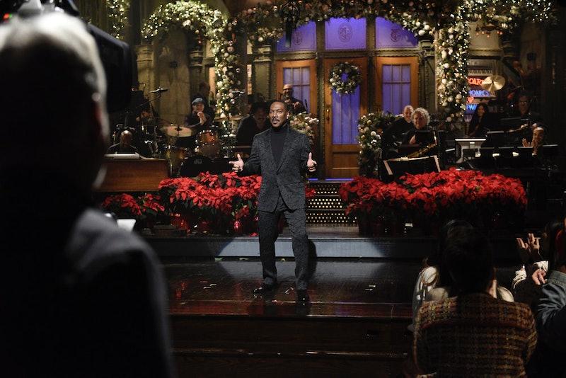Eddie Murphy returned to SNL.
