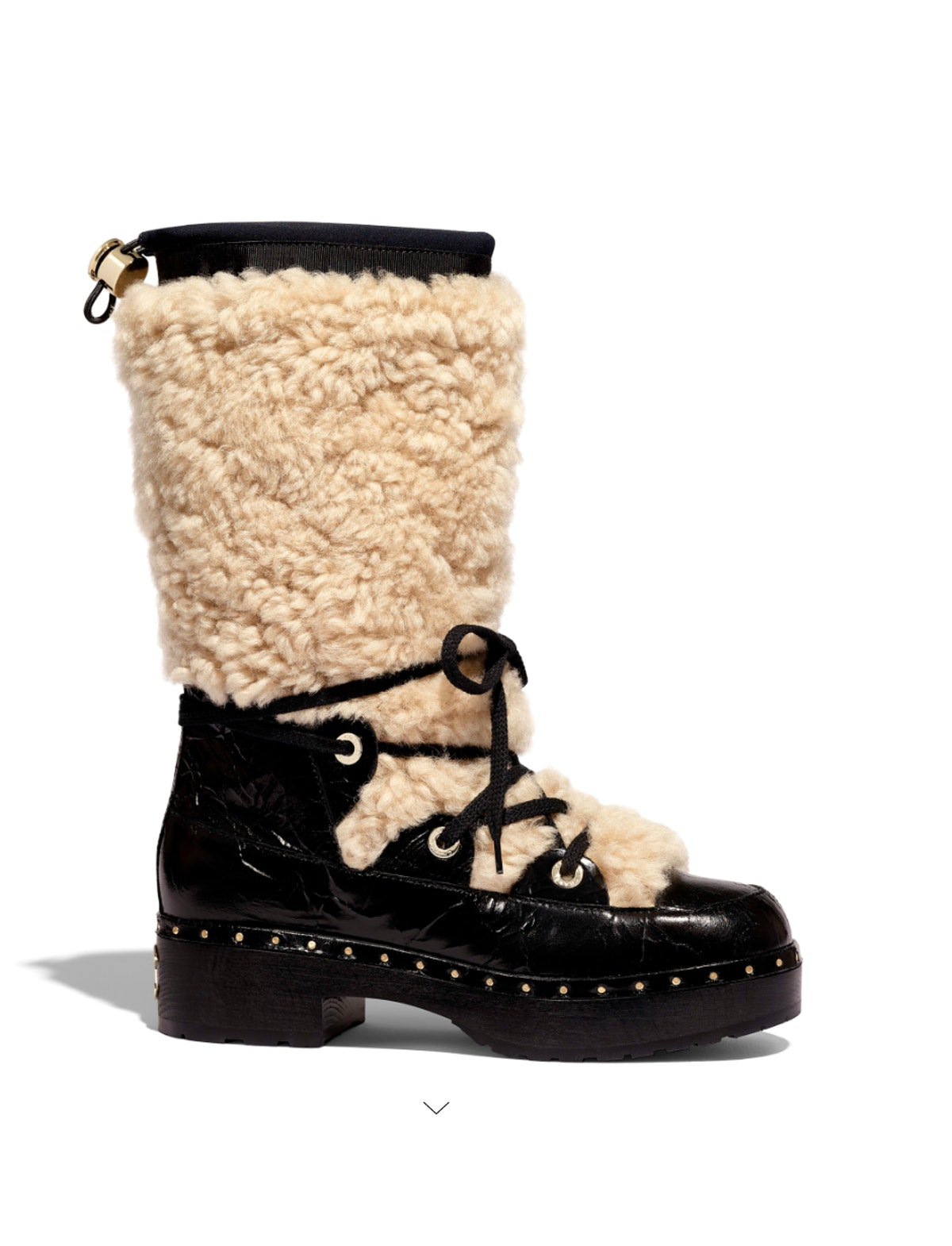 Shearling High Boots